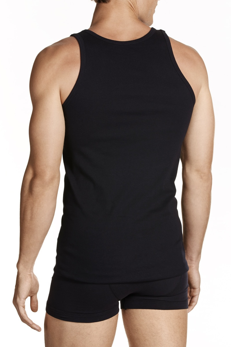 Jockey The Singlet Black